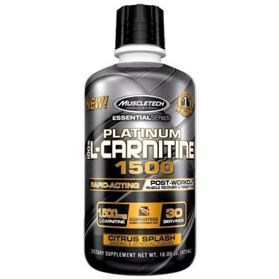 MUSCLETECH L-Carnitine Citrus Splash  473 ml.