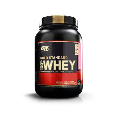 OPTIMUM NUTRITION Whey Gold Frutilla  908 gr.