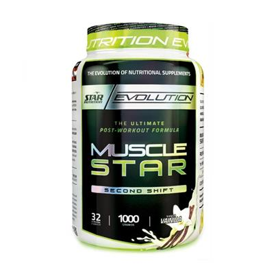 STAR NUTRITION Musclestar Vainilla 1000 gr.