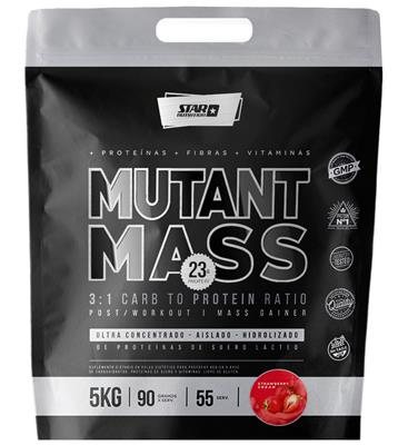 STAR NUTRITION Mutant Mass Frutilla 5000 gr.