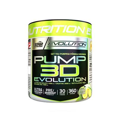 STAR NUTRITION Pump 3D Citrus  360 gr.