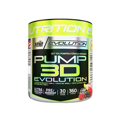 STAR NUTRITION Pump 3D Fruit Punch 360 gr.