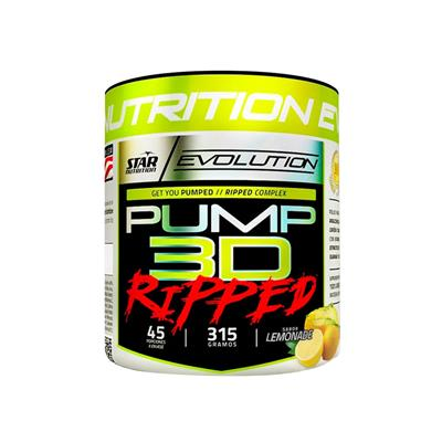 STAR NUTRITION Pump 3D Ripped Lemon  315 gr.