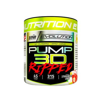 STAR NUTRITION Pump 3D Ripped Strawberry Lemon  315 gr.