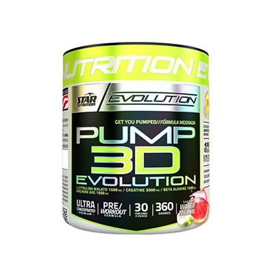 STAR NUTRITION Pump 3D Watermelon  360 gr.