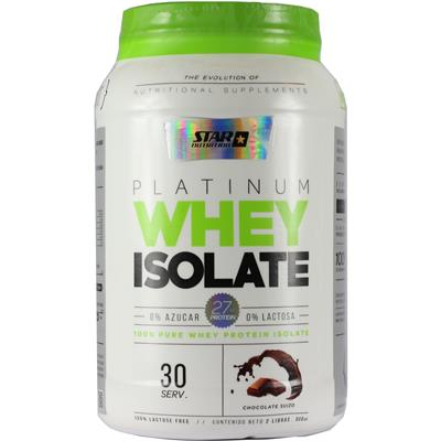 STAR NUTRITION Whey Isolate Chocolate  909 gr.