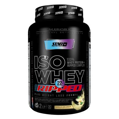 STAR NUTRITION Whey Isolate Ripped Vainilla 1000 gr.