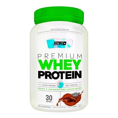 Star Nutrition Whey Protein Chocolate 908 g - 2 lb Proteina Concentrada
