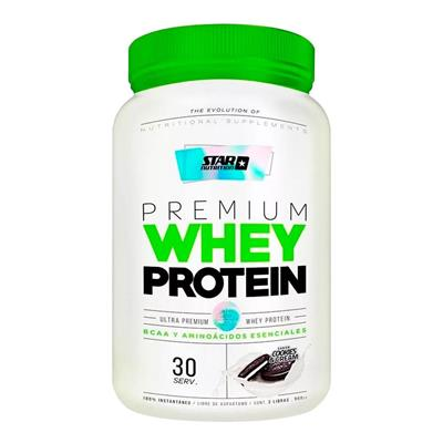 Star Nutrition Whey Protein Cookies 908 g - 2 lb Proteina Concentrada