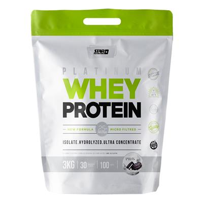 STAR NUTRITION Whey Protein Cookies & Cream 3000 gr.