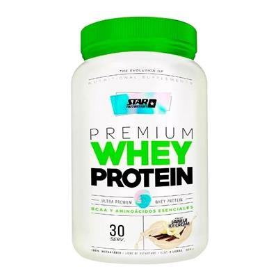 Star Nutrition Whey Protein Vainilla 908 g - 2lb Proteina Concentrada