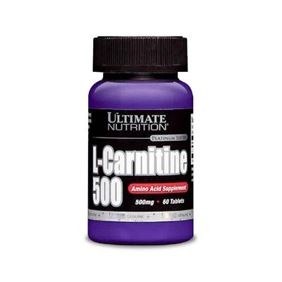 ULTIMATE NUTRITION L-Carnitina 500 mg  60 tab