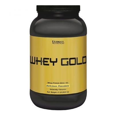 ULTIMATE NUTRITION Whey Gold Chocolate 908 gr.