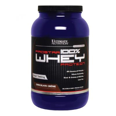ULTIMATE NUTRITION Whey Prostar Chocolate 907 gr.