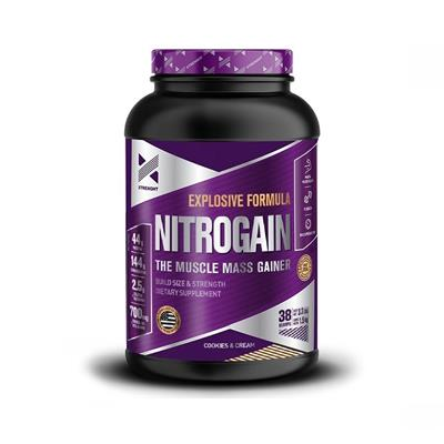 XTRENGHT Nitrogain Cookies & Cream 1500 gr.