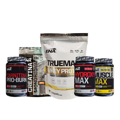~ ENA Whey protein 453 g+Creatina+Muscle Max+Hydroxy+Carnitina