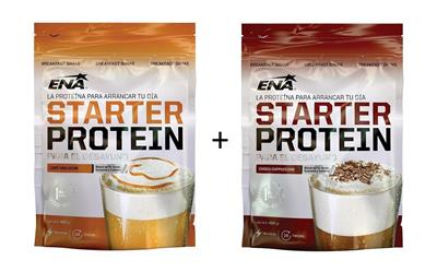 COMBO ENA Starter Cafe c/Leche + Capuccino 2 x 400 gr.