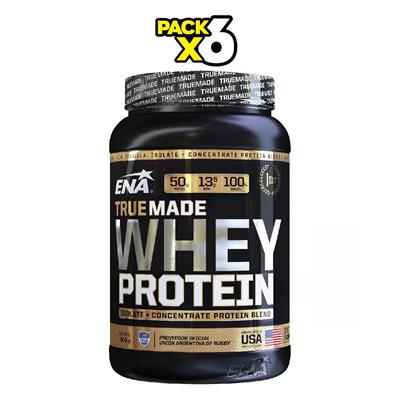 COMBO ENA Whey Protein True Made Chocolate x 6 1000 gr.