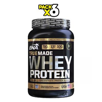 COMBO ENA Whey Protein True Made Cookies & Cream x 6 1000 gr.