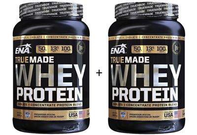 COMBO ENA Whey Protein True Made Chocolate + Vainilla 2 x 1000 gr.