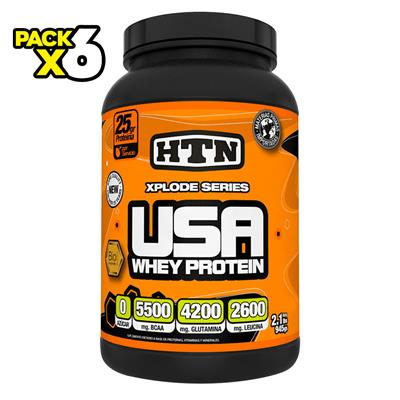 COMBO HTN Whey Protein Frutilla x 6 945 gr.