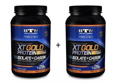 COMBO HTN XT Gold Protein Chocolate + Chocolate 2 x 1015 gr.