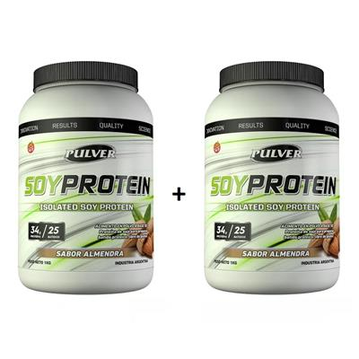 ~ COMBO PULVER Soy Protein 2 x 1000 gr.