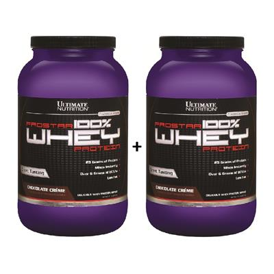 COMBO ULTIMATE NUTRITION Whey Prostar Chocolate + Chocolate 2 x 907 gr.
