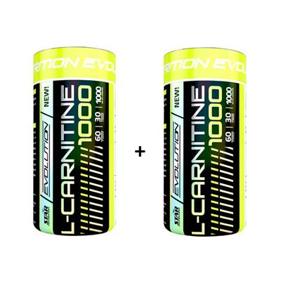 COMBO STAR NUTRITION L - Carnitina 1000 2 x 60 Caps.