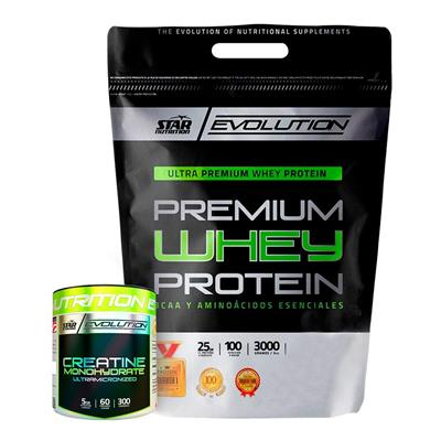 ~ Whey Protein 3 Kg Star Nutrition FR + Creatina 300 Gr