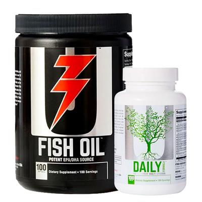 ~ COMBO UNIVERSAL Fish oil + Daily Formula (100 comp.)