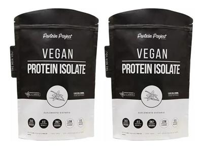 COMBO PROTEIN PROJECT Vegan Protein Iso Ch + Va  2 x  (1000 gr.) (30 sv.)
