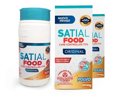 ~ Satial Food Original Oferta-polvo- Pack X 2u