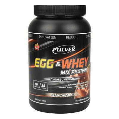 PULVER Mix protein Egg & Whey Chocolate  1000 gr.